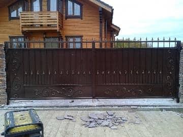 Ворота 6м распашные